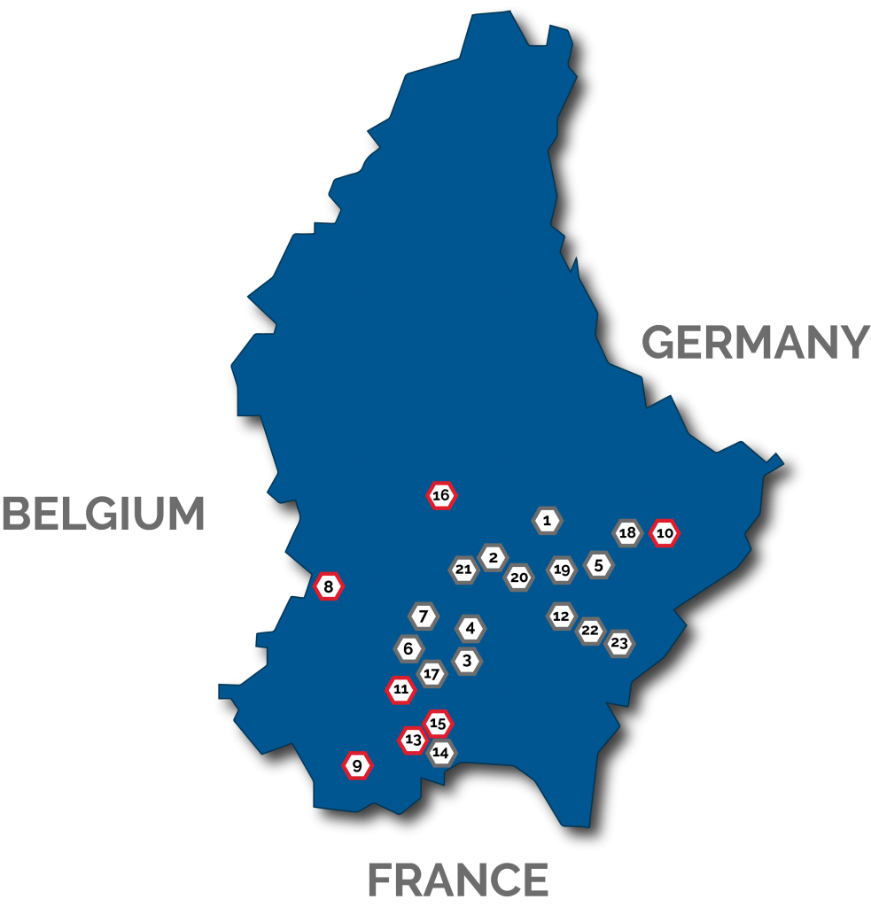 Find Your Data Center In Luxembourg In The Center Of Europe